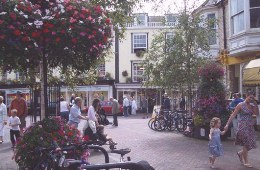 Sidmouth Town Centre (photo: Sidmouth Town Council)