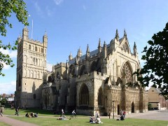 Exeter Cathedral (photo: City of Exeter).
